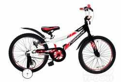 Велосипед Comanche Sheriff W16 black-red-white.