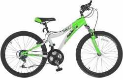 "Велосипед Ranger Colt FS green-white 11""."