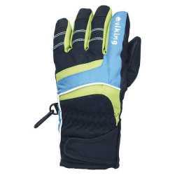 Перчатки Viking Kid black/blue size 6.