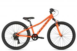 """Велосипед Haro Flightline 24 2021 Orange / Black, 10.5"""" XS."""