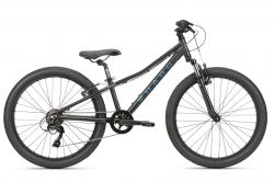 """Велосипед Haro Flightline 24 2021 black, 10.5"""" XS."""
