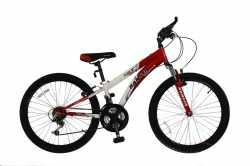 "Велосипед Ranger Colt FS red-white 13""."