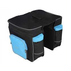 Сумка на багажник Roswheel 14154-B чорний/блакитний.