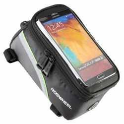"""Сумка на раму під смартфон Roswheel 6.5"""" 12496L-A5 колір чорний."""