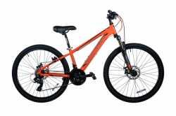 """Велосипед Comanche Ontario Disc, рама 13"""", 15"""", оранжевый-черный"""