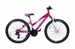 "Велосипед Comanche Ontario Sport L, рама 13"", 15"", сиреневый-белый"