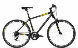 "Велосипед Kellys 18 Cliff 30 Black Yellow 19""."