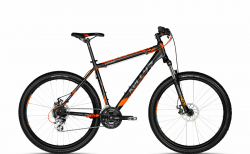"Велосипед Kellys 18 Viper 30 Black Orange (26"") 15.5""."