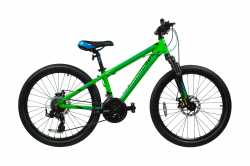 "Велосипед Comanche Areco Disc green 14""."
