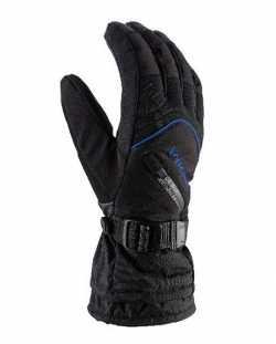Перчатки Viking Tirol black/blue size 9.