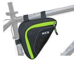 Сумка на раму KLS Wedge (об'єм 0.9 л) лайм.