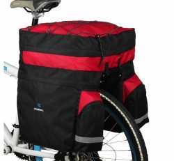 Велосумка-штаны на багажник Roswheel 60L.