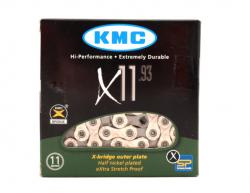 Цепь KMC X11, 114L, 11 скоростей.