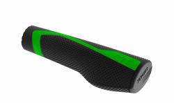 Ручки руля KLS Token зелений.