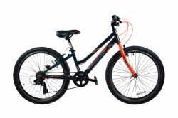 "Велосипед Comanche Pony M, рама 11"", 12.5"", 14"", синий-оранжевый"