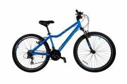 "Велосипед Comanche Ontario Fly 1.2, рама 13""/15"", синий-серый"