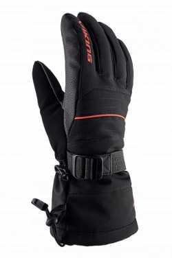 Перчатки Viking Bormio black/orange size 8.