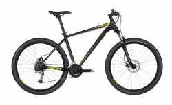 """Велосипед Kellys 19 Spider 30 Black (27.5"""") S."""