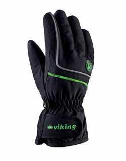 Перчатки Viking Kevin black/green size 5.