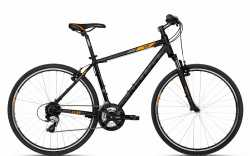"""Велосипед Kellys 18 Cliff 30 Black Orange 19""""."""