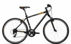"""Велосипед Kellys 18 Cliff 30 Black Orange 23""""."""