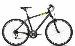 "Велосипед Kellys 18 Cliff 70 Black Green 21"""
