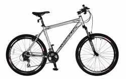 "Велосипед Comanche Tomahawk серый (26"") 22""."