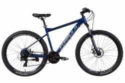 """Велосипед AL 27.5"""" Formula F-1 AM DD 19"""" синьо-сріблястий з жовтим 2021."""