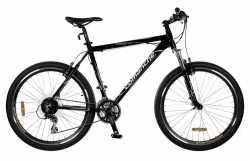 """Велосипед Comanche Tomahawk черный 22""""."""