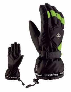 Перчатки Viking Dexter black/green size 8.